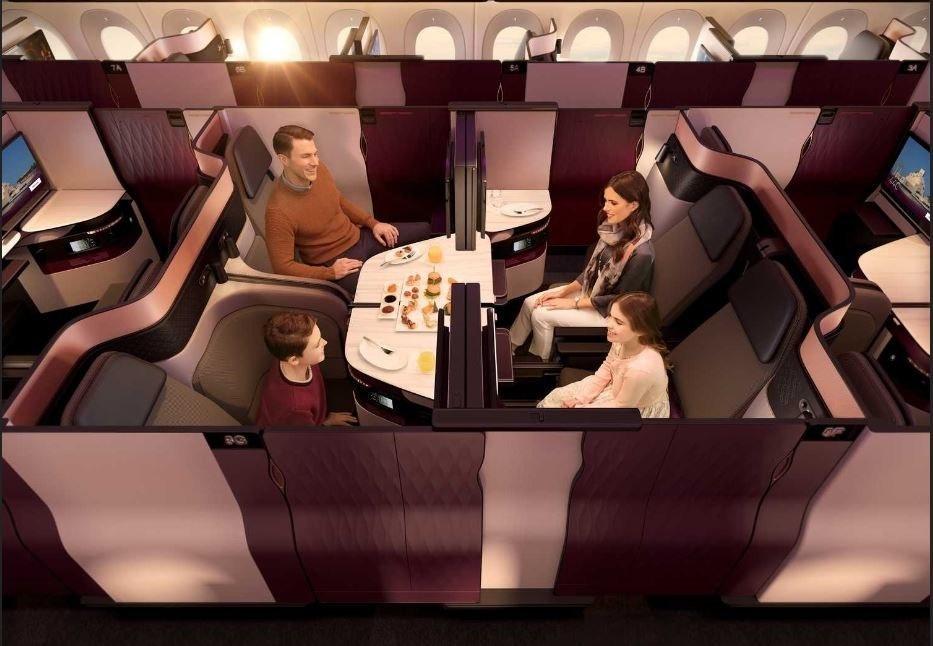 Qatar Airways Sudamérica, presentan Clase Ejecutiva Qsuite