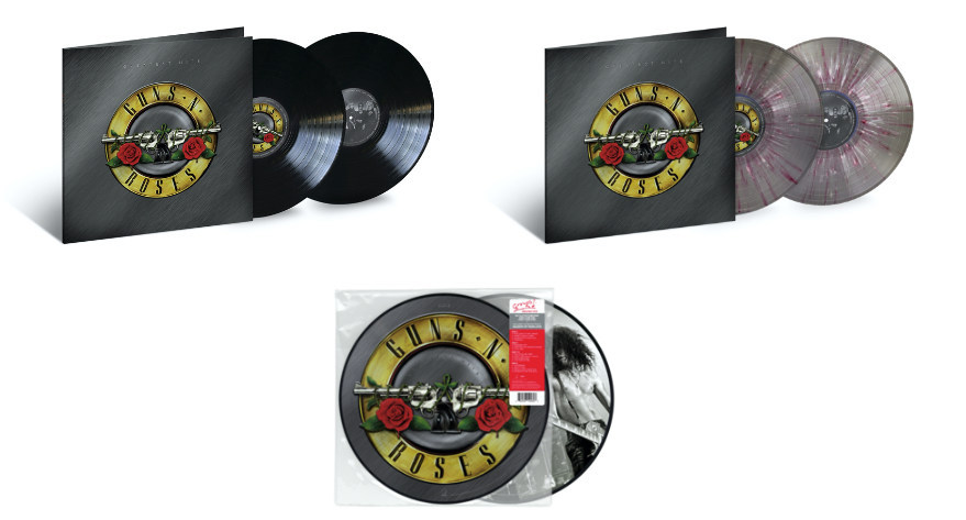 Guns N 'Roses, anuncian discos de vinilo con grandes éxitos